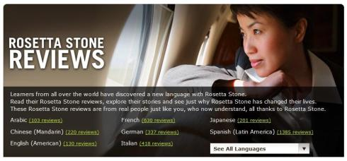 Rosetta Stone Courses With 30 Languages Courses For All